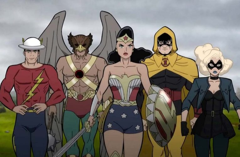 เรื่องย่อ :  Justice Society World War II (2021)